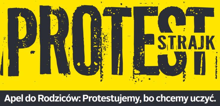 protest nauczycieli