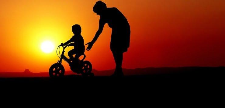 Rower i dziecko